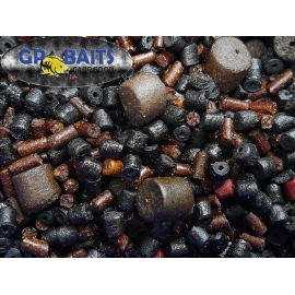 PELLET  MIX  GRANULACJA 0D 6 MM DO 18 MM